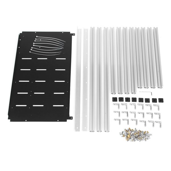 Aluminium Open Air Mining Rig Frame – 6GPU max