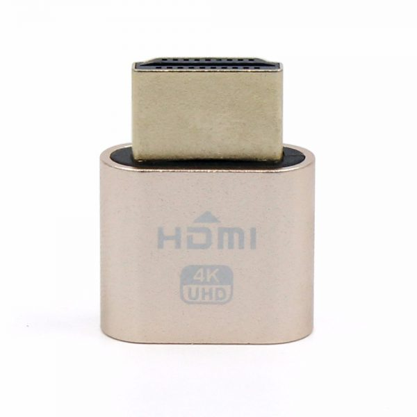 HDMI Dummy Plug (Monitor Emulator)