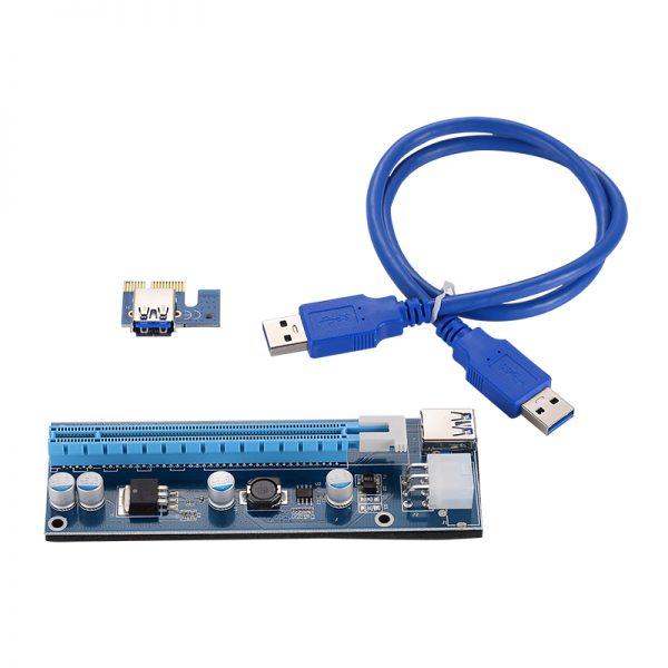 1x naar 16x USB 3.0 Powered Riser 007