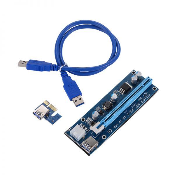 PCIe Riser USB3.0 - Best Powered Riser - V007