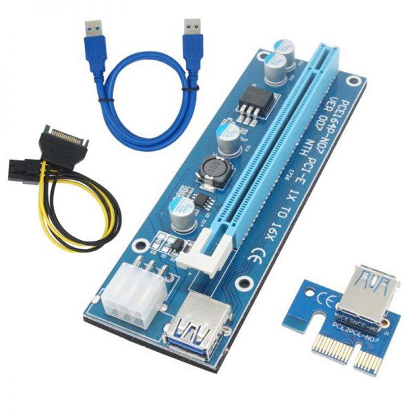 PCIe Riser USB3.0 - Powered - V007
